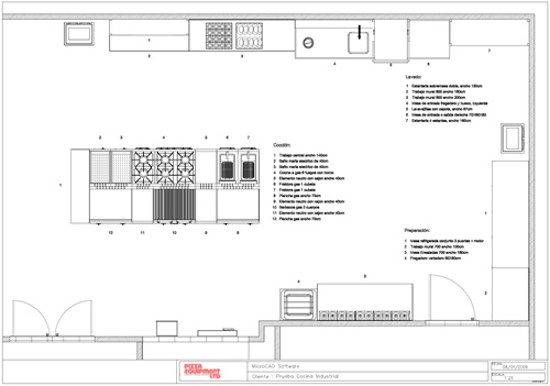 Pizza Equipment Ltd Cad Kitchen Design
