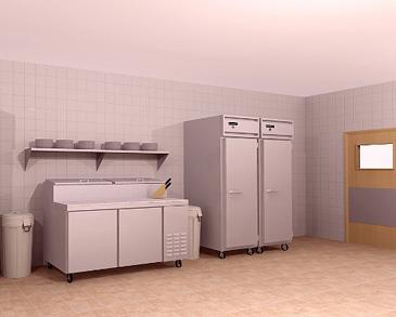 ... Pizza Equipment Ltd CAD Kitchen Design Photo